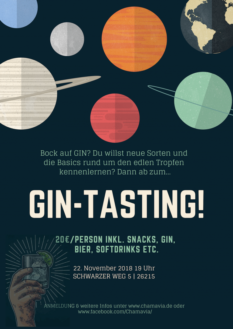 Gin-Tasting Chamavia